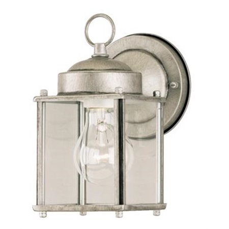 - Westinghouse 6468400 Silver Outdoor Wall Sconce
