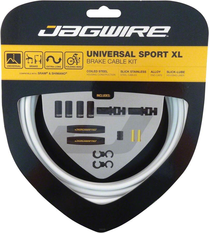 Jagwire Universal Sport Brake XL Kit, White