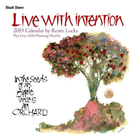 Live with Intention Wall Calendar (Other)