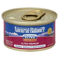 Natural Balance Original Ultra Whole Body Health Chicken, Salmon & Duck Canned Cat Formula