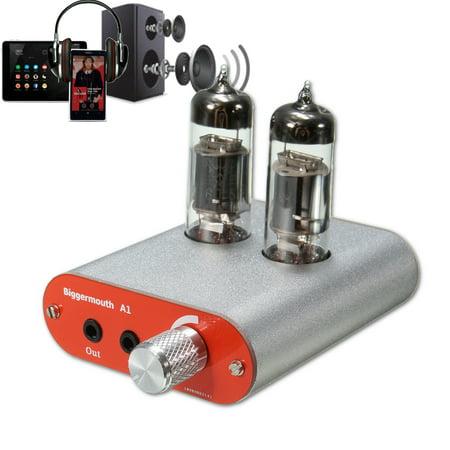 6J9 Valve Tube Headphone Amplifier Audio HiFi Earphone AMP for iPod Phone