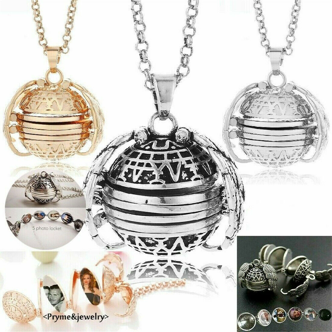 KY Cosplay Unisex Vintage Steampunk Necklaces Vintage Navigation Accessories Pendant