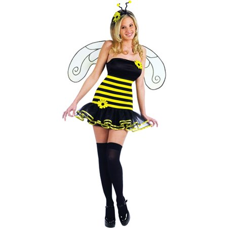 Honey Bee Adult Halloween Costume (Adult Bee Costume)