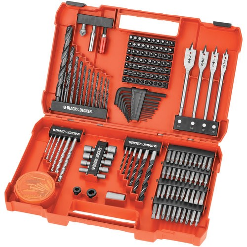 Black & Decker 201-Piece Power Tool Accessory Set