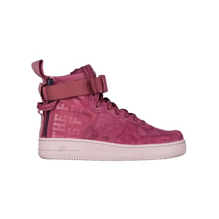 san francisco 40c62 4b1ba Nike SF Air Force 1 Mid - Women's - Basketball - Shoes - Vintage  Wine/Vintage Wine/Particle Rose