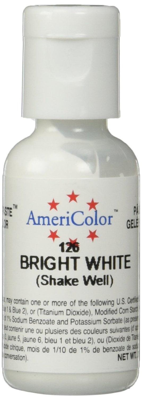 Soft Gel Paste Food Color, .75-Ounce, Bright White - Walmart.com