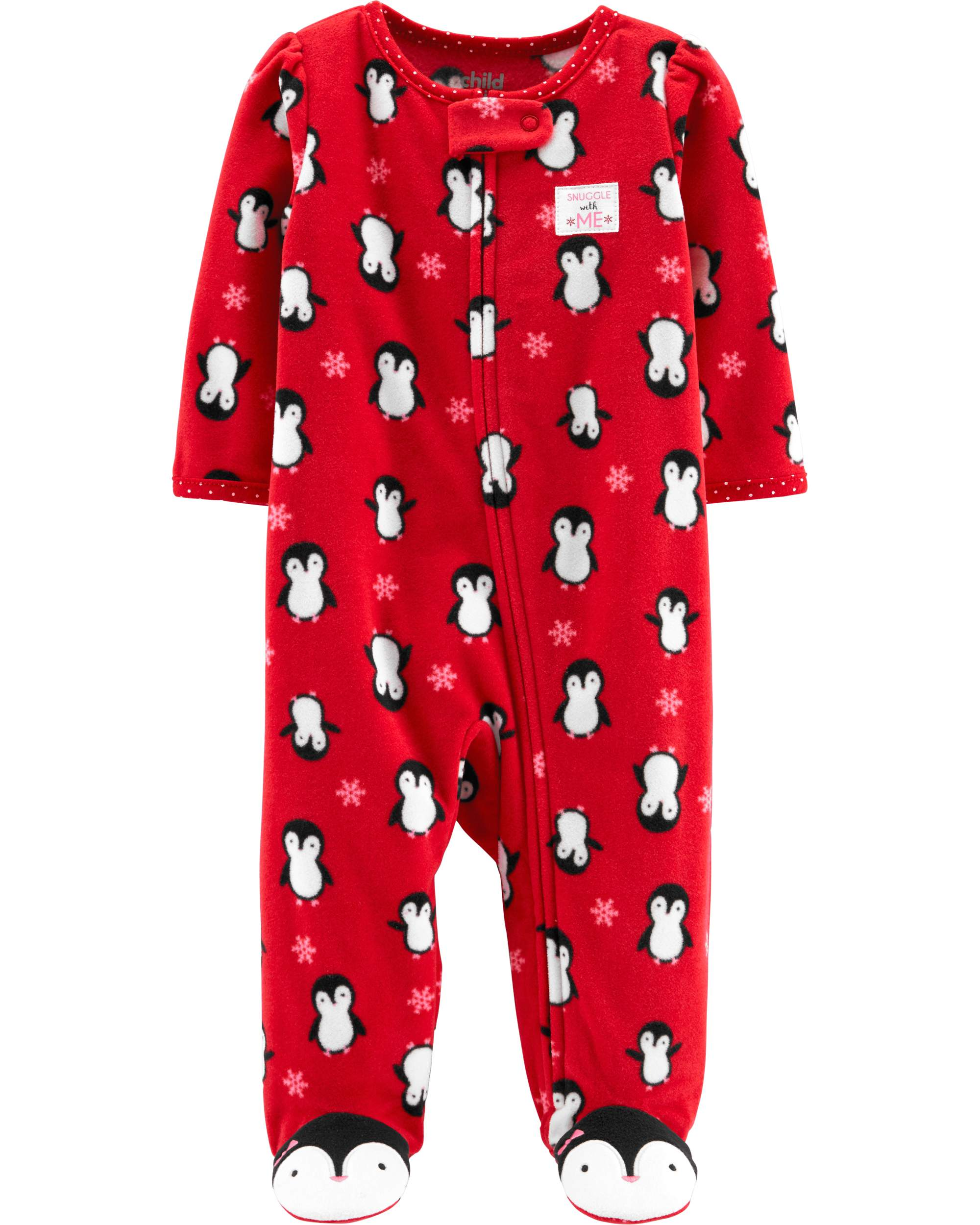 Christmas Sleep N' Play Pajamas (Baby Girls)