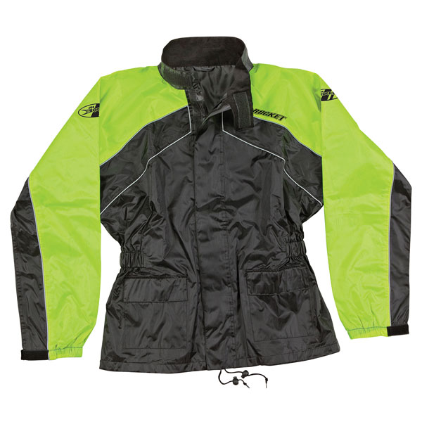 Joe Rocket RS-2 Mens Hi-Visibility Yellow Rain Suit