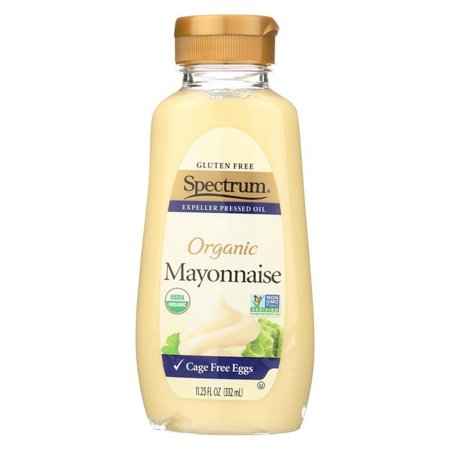 Spectrum Naturals Organic Mayonnaise With Cage Free Eggs - pack of 12 - 11.25 (Egg Mayonnaise)
