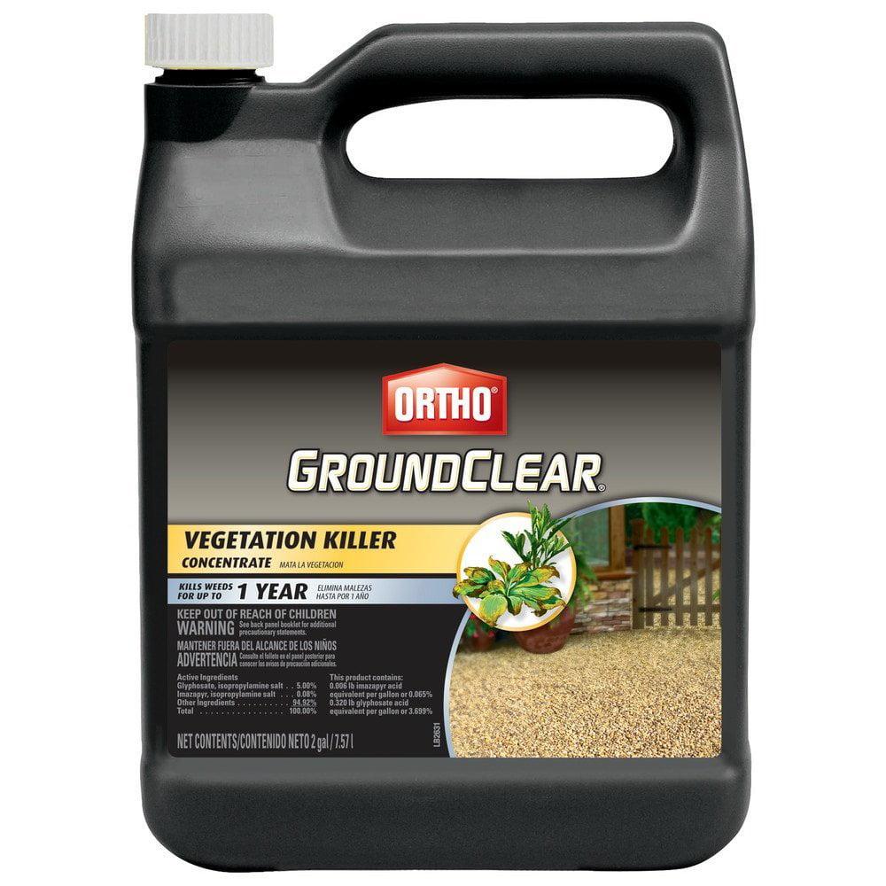 GroundClear Vegetation Killer Concentrate, 2-Gallon, USA, Brand Ortho