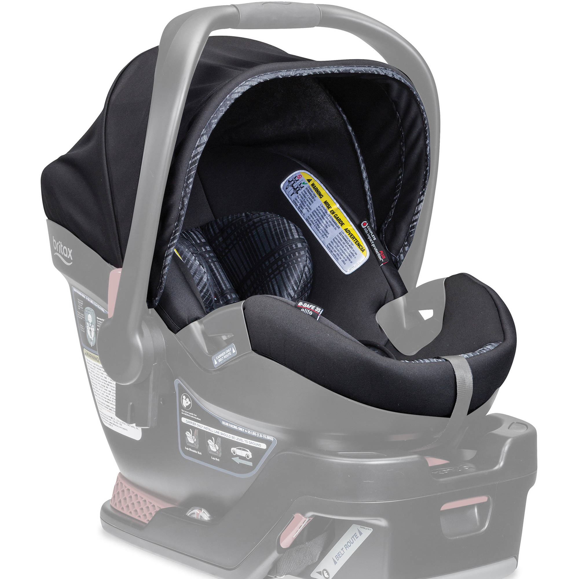 Britax Car Seat Cover Set, B-Safe 35 Elite Infant Car Seat, Domino