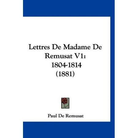 Lettres de Madame de Remusat V1: 1804-1814 (1881) - image 1 de 1