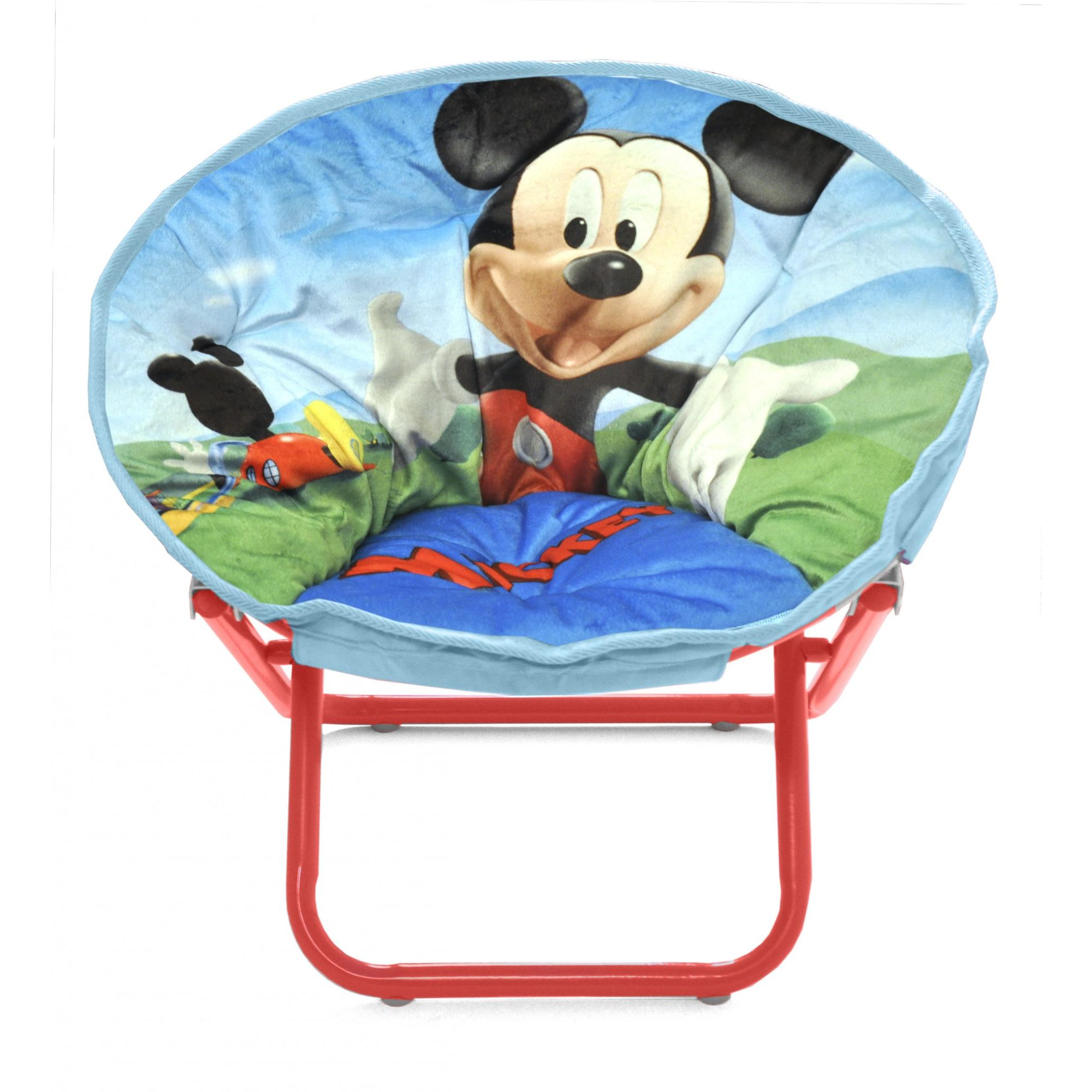 Mickey Mouse Mini Collapsible Saucer Chair Walmart