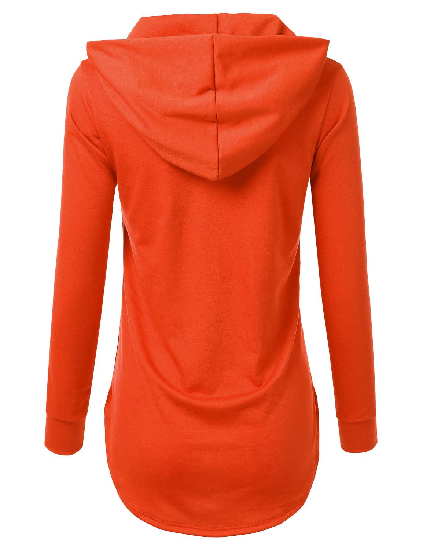 Gildan Hoodie Sweatshirt Mitch Please Classic Orange Future