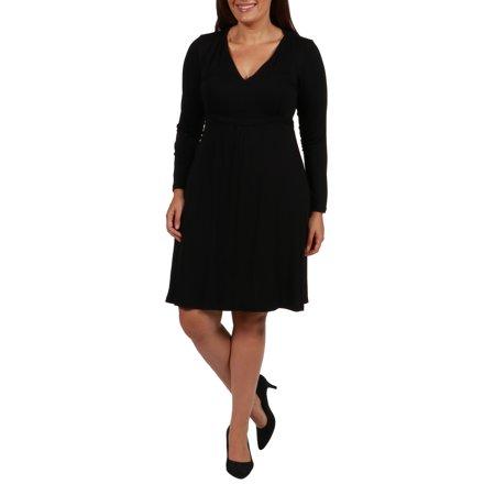 24/7 Comfort Apparel - Julie Plus Size Dress - Walmart.com