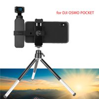 2 in 1 Cell Phone Stand w/ Tripod Holder Mount Accessories for DJI OSMO Pocket