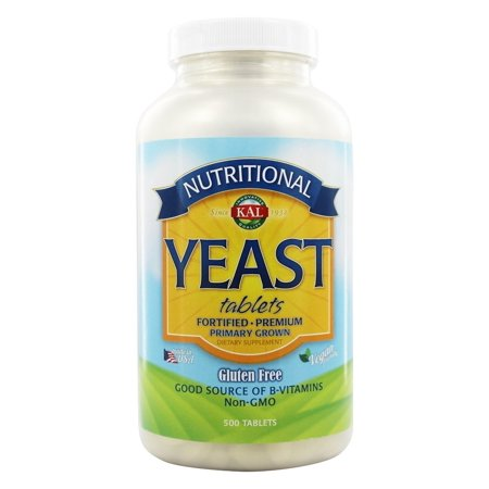 - Kal - Nutritional Yeast - 500 Tablets