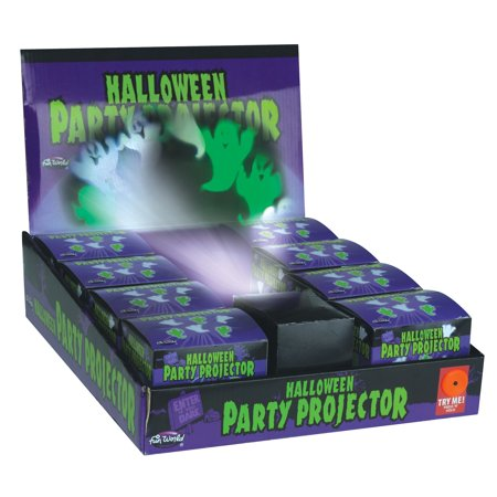 Fun World Halloween Ghosts Party Projector Decoration Prop, 3