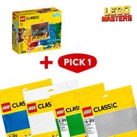 LEGO Masters: Classic Bricks and Lights & Baseplate Bundle