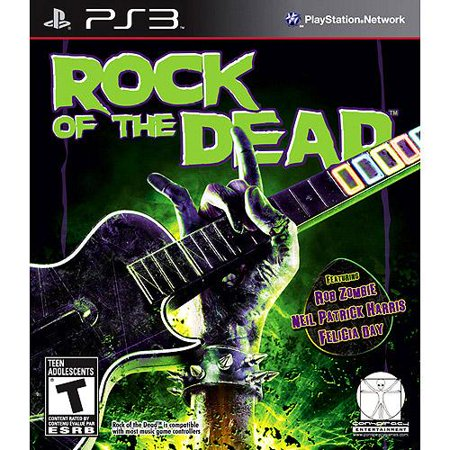 Playstation PS3 Rock Of The Dead Video Game