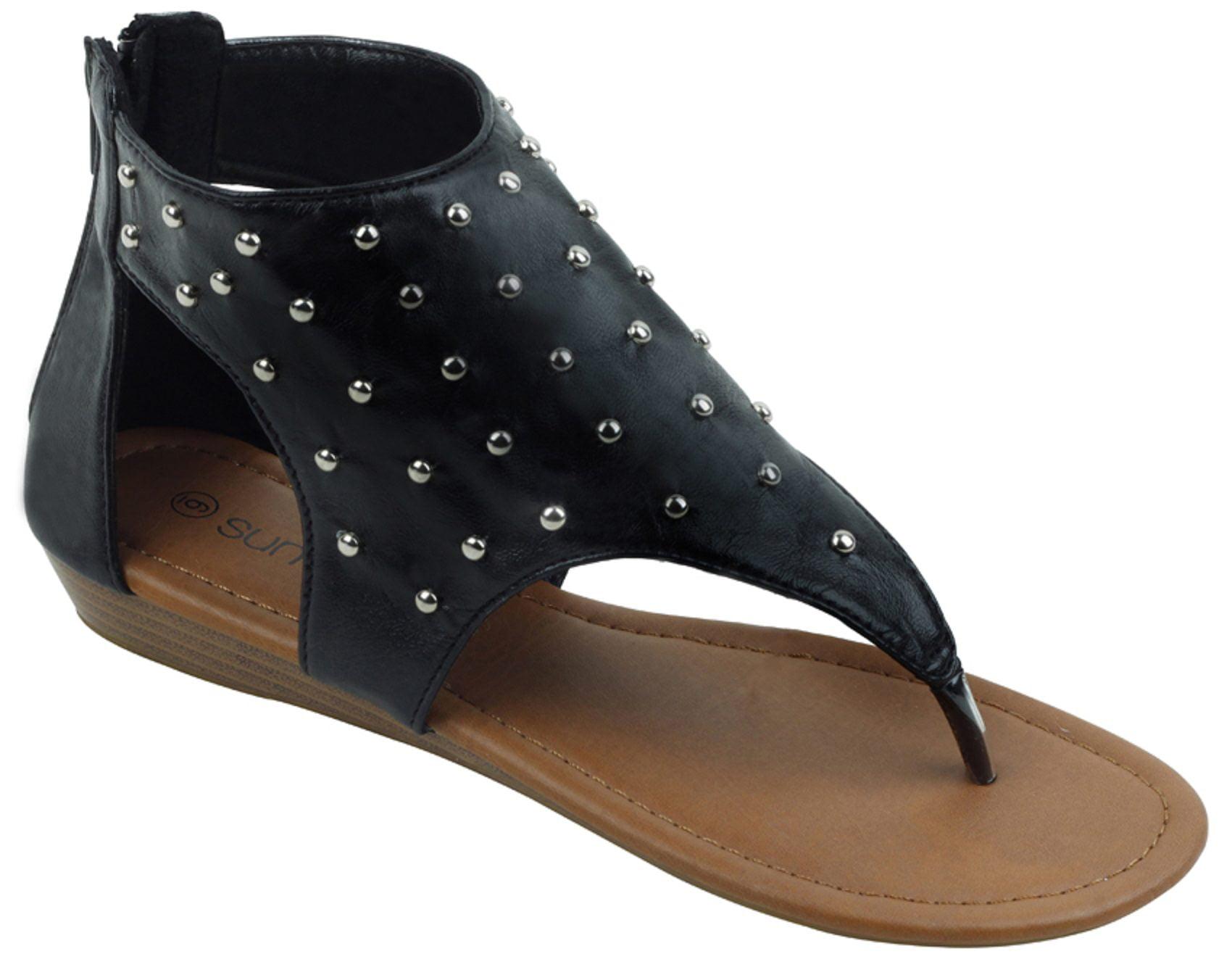 6f6b28ebd946 Womens gladiator sandals thong flops strap flip flops flats back jpg  1700x1334 Gladiator flip flops