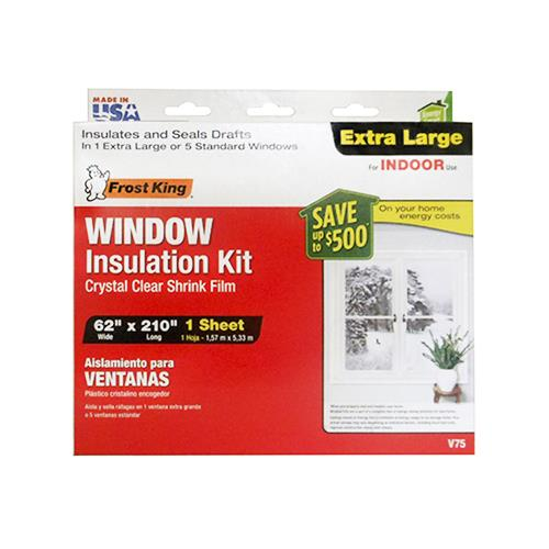 Thermwell V75H Window Insulation Kit or Kitchen for Extra...