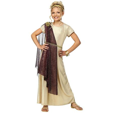 Girl's Royal Goddess Costume (Girls Goddess Costume)