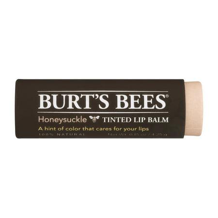 Burt's Bees Baume teinté pour les lèvres, Chèvrefeuille, 0,15 Ounce