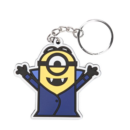 Minion Movie Vampire Minion Rubber Keychain-1 - Minion Movie Characters