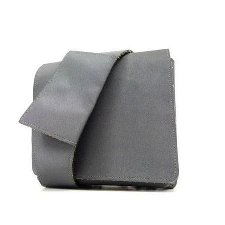 Chanel Waist Sports Logo Belt 233977 Grey Nylon Shoulder Bag