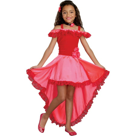 Lil' Senorita Girls' Child Halloween Costume, Large