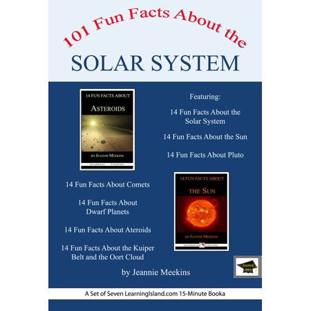 101 Fun Facts About the Solar System: A Set of Seven 15-Minute Books, Educational Version - eBook Bb Set Solar System