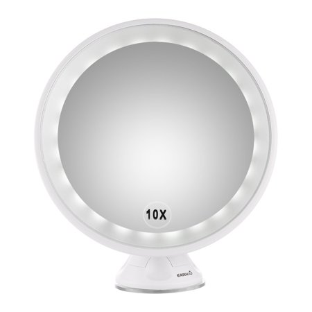 Easehold 10x Magnifying Led Lighted Vanity Mirror Makeup