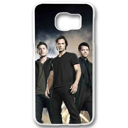 Ganma Sam Winchester Dean Winchester and Chastel Supernatural Case For Samsung Galaxy Case (Case For Samsung Galaxy S5 White) ()