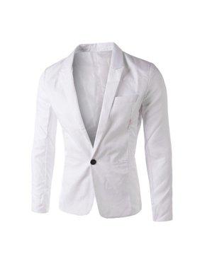 9ede7ee8 Product Image Charm Men's Casual Slim Fit One Button Suit Blazer Coat Jacket  Tops Men Fashion