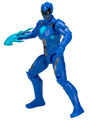 Power Rangers Legacy Mighty Morphin Movie 5-Inch Blue Ranger Action Figure Bandai America Incorporated Import 97023