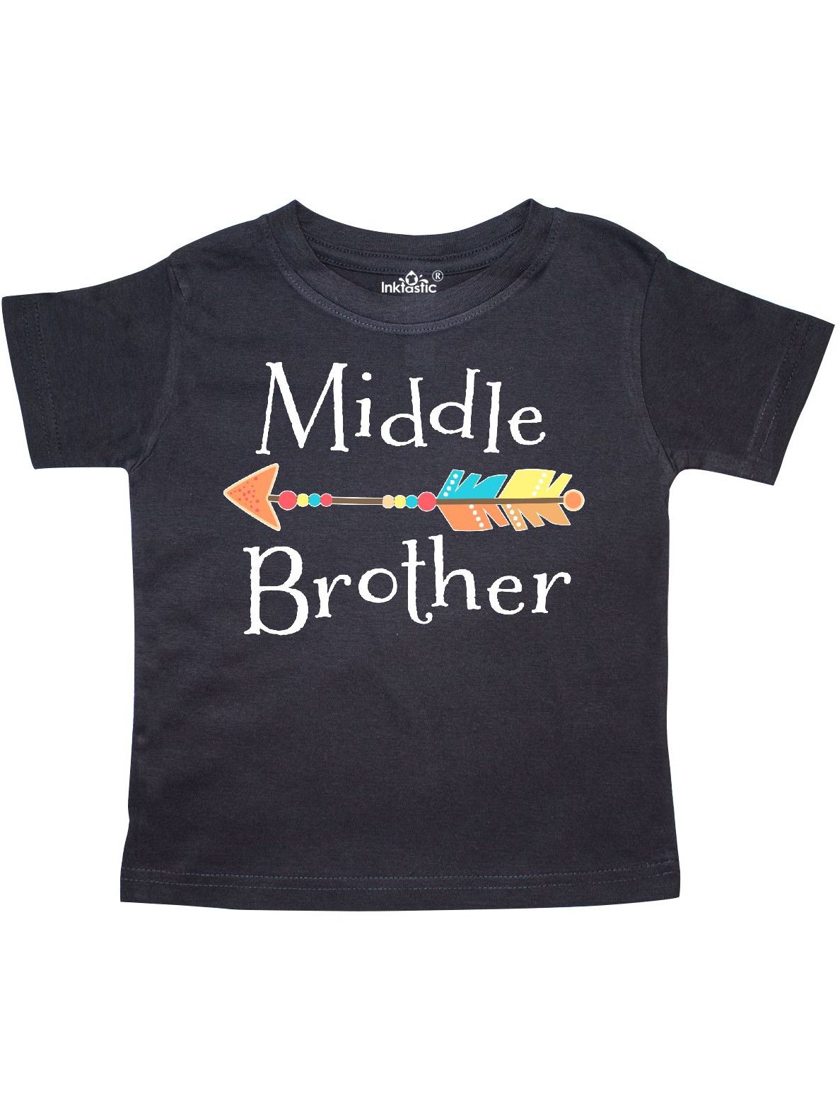 inktastic My Brother Graduated with Cap and Arrows Baby T-Shirt