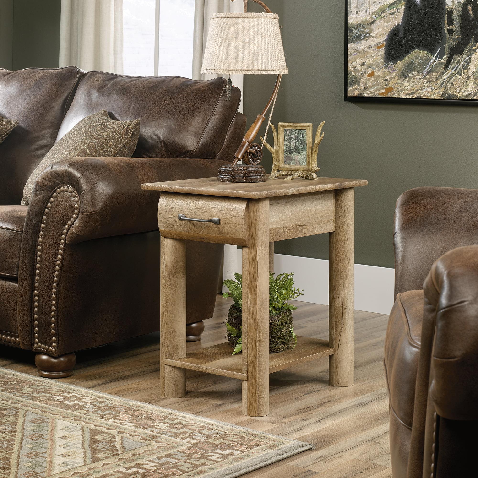 Sauder Boone Mountain Side Table, Craftsman Oak Finish   Walmart.com