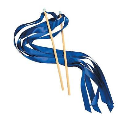 IN-14/1798 Blue Ribbon Wands 24 Piece(s)