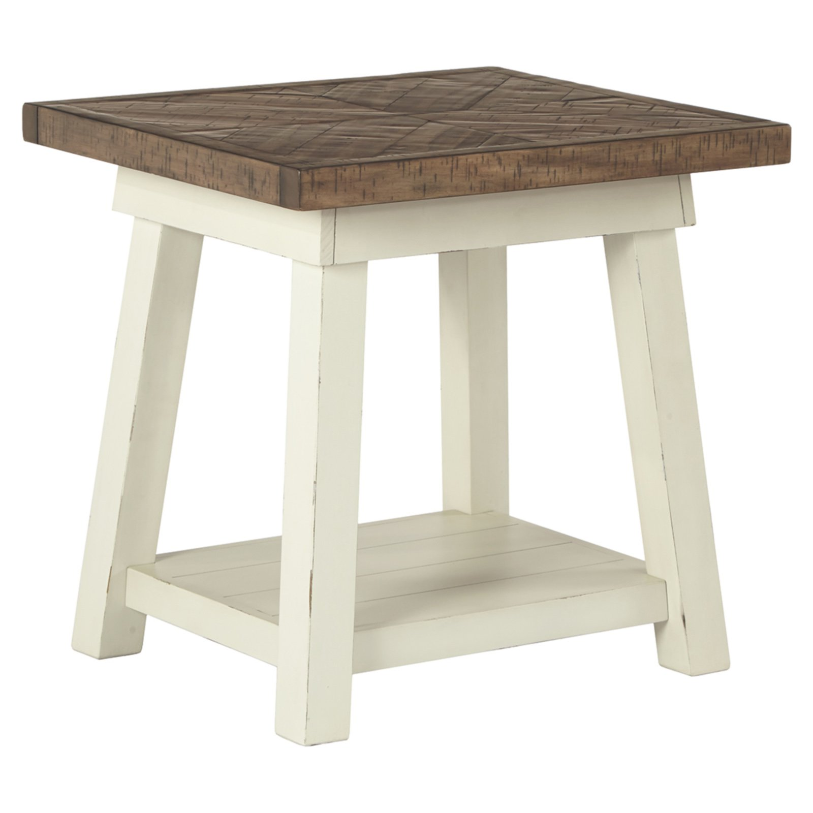 Signature Design by Ashley Stownbranner 22 in. Rectangular End Table