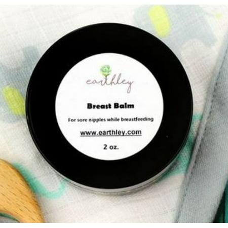Breast Care Balm - Earthley Wellness Breast Balm 2 Oz.