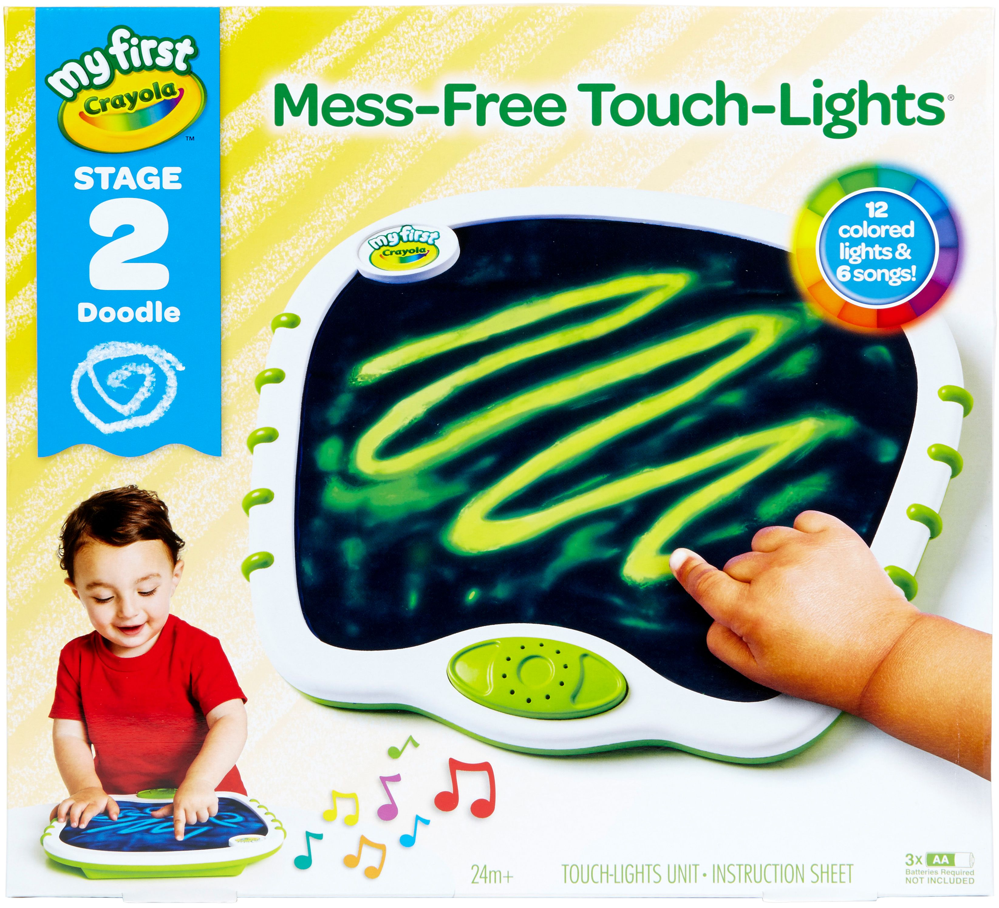 Crayola My First Touch Lights- by Crayola