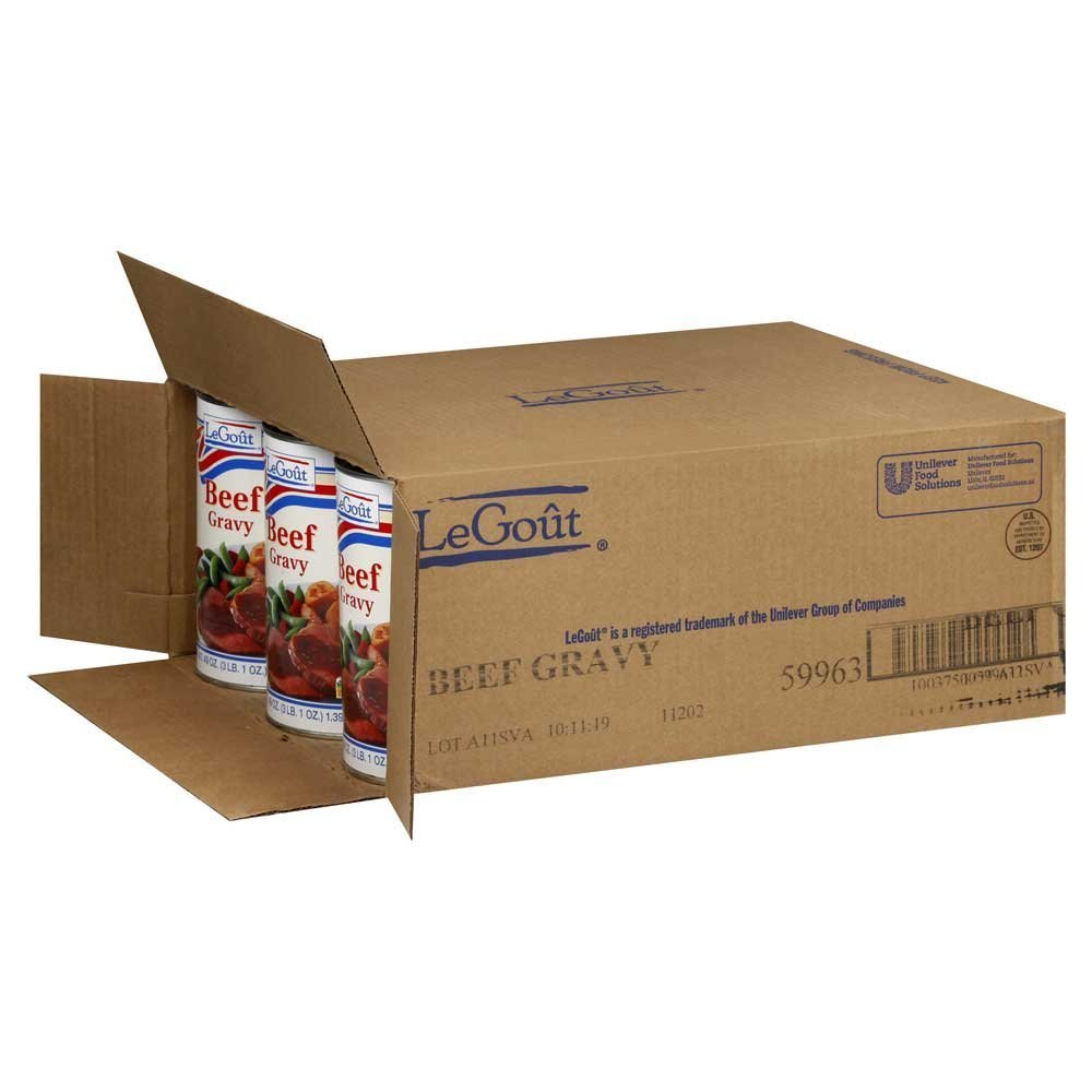 12 PACKS : Beef Gravy no.5 Can