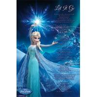 Frozen - Elsa Let It Go Poster Print