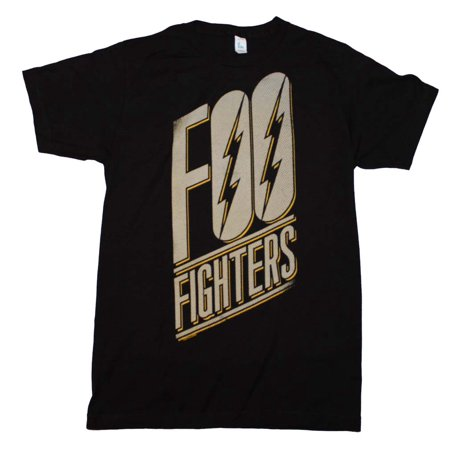 Foo Fighters Eagle (Foo Fighters Slanted Logo Slim Fit T-Shirt X-Large)