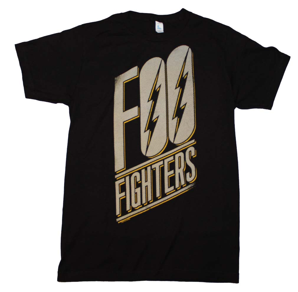 Foo Fighters Slanted Logo Slim Fit T-Shirt X-Large