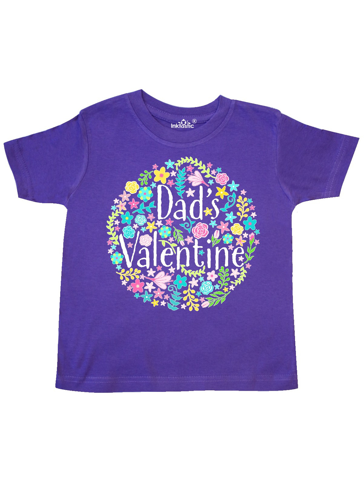inktastic Flower Girl Lavender Bridal Toddler T-Shirt