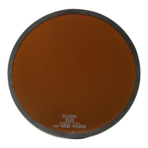 Kodak 5-1/2;quot; Round Safelight Filter #OC, Light Amber...
