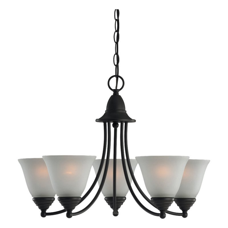 Sea Gull Lighting Albany 31576-782 5-Light Chandelier 24 diam. in. Heirloom Bronze by Sea Gull Lighting