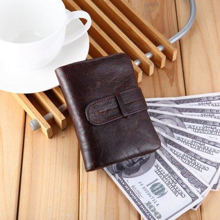 519 Men'S Handmade Pu Leather Long Wallet Retro Zipper Men And Women Handbag - image 3 of 9